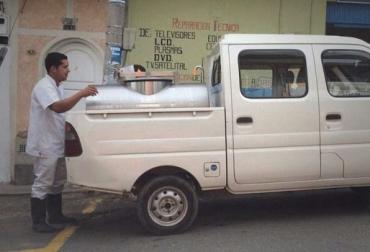 carros lecheros Colombia