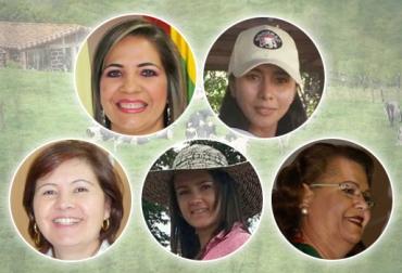 mujeres ganaderas en Colombia