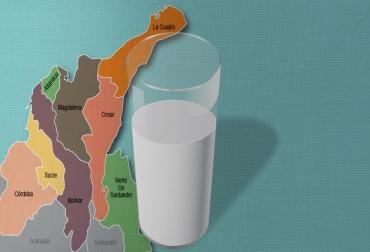 producción de leche región caribe