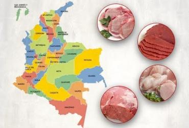 consumo de carnes Colombia