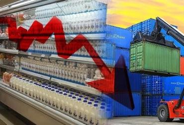 Caida del precio de la leche en polvo en los mercados internacionales, caída del precio internacional advierte José Félix Lafaurie, José Felix Lafaurie, fedegan, CONtexto ganadero, ganadería colombia, noticias ganaderas colombia