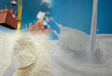 Colombia, leche, producción nacional de leche en-sept 2017, exportaciones colombianas de productos lácteos, Así están acabando las importaciones con la lechería colombiana, impacto de las importaciones lácteas en la ganadería de leche de colombia 2017, Alfonso Santana Díaz, CONtexto ganadero, ganadería Colombia, Noticias ganaderas Colombia