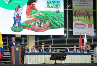 Colombia, Agroexpo, Iván Duque Márquez, apoyo a la ganadería colombiana, transformación rural, sector lácteo, Alianza del Pacífico, institucionalidad parafiscal ganadera, Formalización, catastro, contrabando, abigeato, impuesto de renta, exención en el impuesto de renta, CAN, CONtexto ganadero, noticias ganaderas de Colombia