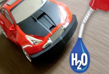 El carro del futuro se desplazará con agua