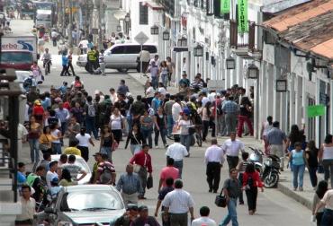 Desempleo en Popayán.