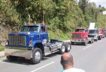 paro camionero Colombia
