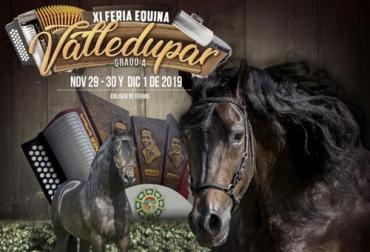 Feria Equina de Valledupar, XI Feria Equina de Valledupar, evento equino en Valledupar, Riendas, Fedequina, Subasta ganadera, Gira ganadera