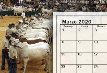 Remates marzo 2020, remates ganaderos 2020, Eventos ganaderos, ferias ganaderas, ferias ganaderas Colombia, Eventos ganaderos marzo 2020, subastas, inicio 2020, marzo 2020, Venta de ganado, subastas ganaderas, bovinos, vacas, eventos bovinos Colombia, CONtexto ganadero, ganaderos Colombia, noticias ganaderas Colombia