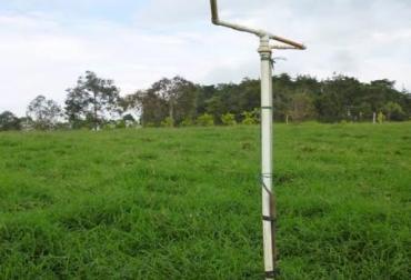 Aspersor estercolero ganadería