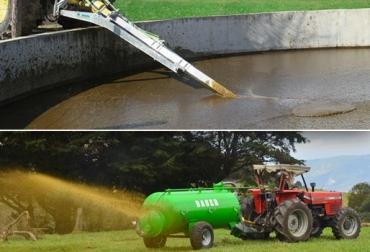 estiércol líquido, fertilizante orgánico, Abono orgánico, reducción del uso de productos químicos, ganaderos de colombia, CONtexto ganadero