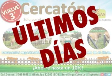 Cercatón TVGAN junio 2017, promoción TVGAN junio 2017, promoción cercas TVGAN junio 2017, Tercera Cercatón TVGAN 2017, cercas de fincas, CONtexto ganadero, ganaderos Colombia