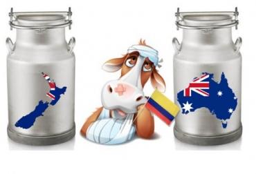 Colombia, importaciones de leche, Australia, Nueva Zelanda, Alianza Pacífico, CONtexto ganadero, ganadería Colombia, Noticias ganaderas Colombia