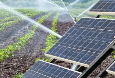 Resultado de imagen para paneles solares agricultura
