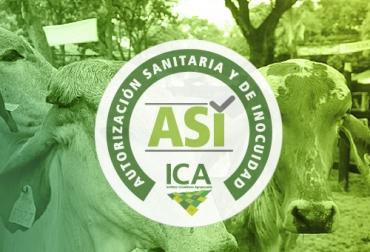 proyecto de autorización sanitaria, autorización sanitaria del ICA, inocuidad en predios ganaderos, inocuidad de la carne, inocuidad de la leche