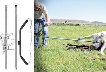 hala ternero, herramienta para atender el parto de la vaca, extración el ternero, parto de la vaca, parto distócico,