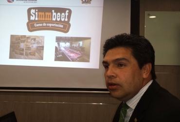 Director ejecutivo de la Asociación Simmental – Simbrah de Colombia Manuel Blanco.