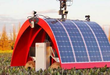 drones y robots para cuidar ganado