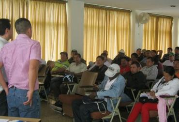 Actividad agropecuaria en Cauca