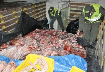 Contrabando de carne.