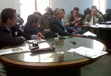 Reunión Madr, Fedegán y Cámara Gremial Leche
