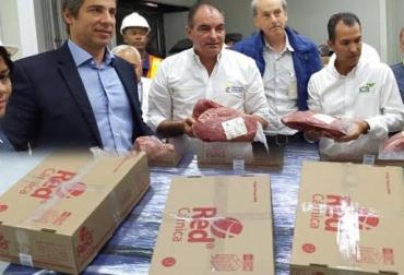 envíos de carne colombiana a jordania