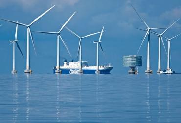 Parque de energía eólica en alta mar