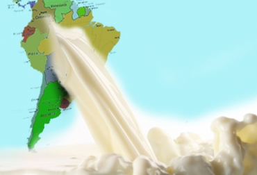 producción de leche en Latinoamérica