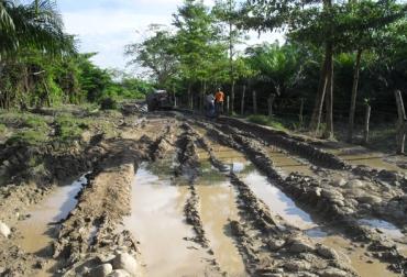 vías terciarias colombia