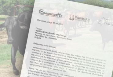 carta respaldo al fondo nacional del ganado