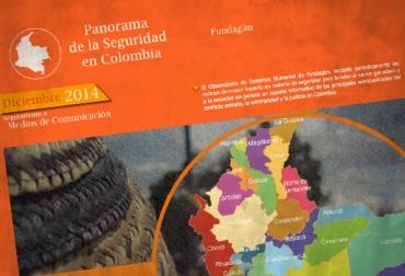 Panorama de la Seguridad en Colombia diciembre 2014