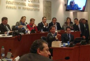 Comisión Quinta del la Cámara