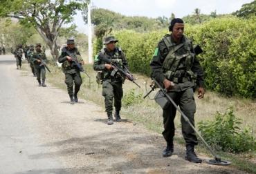 Policía rural en Colombia