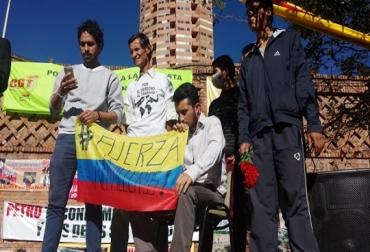 Huelga de hambre Plaza de toros