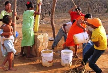 Falta de agua en Colombia